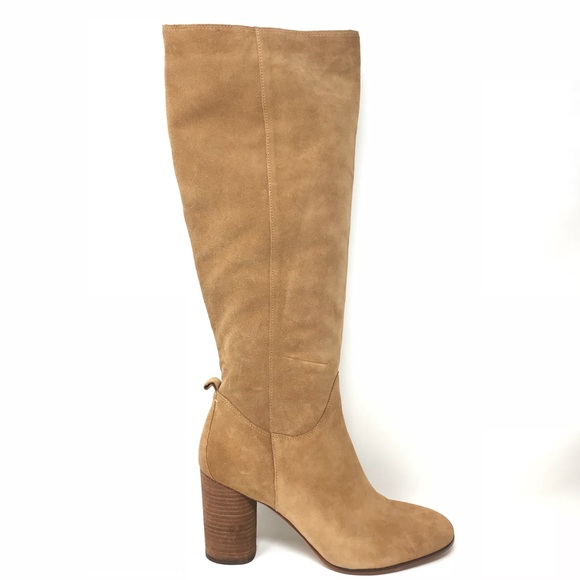 112a6d5bb Sam Edelman Camellia Camel Suede Knee High Boots. M 5bd601f01b329423577a70bf